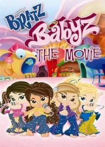 Affiche du film Bratz Babyz s\'adressant aux enfants de deux ans.